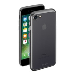 Чехол-накладка для Apple iPhone 7 (Deppa Gel Plus Case 85283) (графит)
