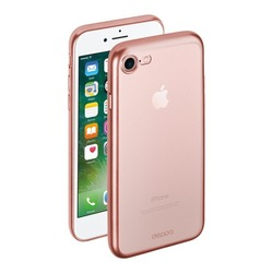 Чехол-накладка для Apple iPhone 7 Plus (Deppa Gel Plus Case 85290) (розовый)