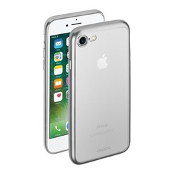 Чехол-накладка для Apple iPhone 7 Plus (Deppa Gel Plus Case 85287) (серебристый)