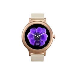 LG Watch Style W270 (корпус розовое золото, ремешок розовое золото)