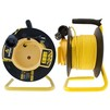 Сетевой удлинитель SUPERMAX 25м (1 розетка) (на катушке) - Сетевой фильтрСетевые фильтры<br>Сетевой удлинитель, 1 гнездо, на катушке, 2х0.75мм2, защита от детей, длина 25 м.<br>