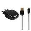 Smartbuy NOVA MKII + кабель microUSB (SBP-1004MC) (черный) - Сетевое зарядное устройствоСетевые зарядные устройства<br>Сетевое зарядное устройство, вых.ток 2.1А, 1USB, в комплекте кабель microUSB.<br>