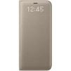 Чехол-книжка для Samsung Galaxy S8 (LED View Cover EF-NG950PFEGRU) (золотистый) - Чехол для телефонаЧехлы для мобильных телефонов<br>Чехол плотно облегает корпус и гарантирует надежную защиту от царапин и потертостей.<br>