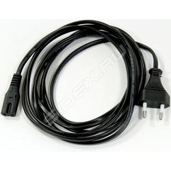 Кабель IEC-320-C7-Питание 2pin 1.8м (VCOM CE023-CU0.5-1.8M) (черный)