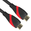 Кабель HDMI 19M-HDMI M 1м (VCOM CG525-1M) (черно-красный) - HDMI кабель, переходникHDMI кабели и переходники<br>Разъемы HDMI 19M-HDMI M, версия 2.0, длина 1м.<br>