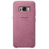 Чехол-накладка для Samsung Galaxy S8 Plus (Alcantara EF-XG955APEGRU) (розовый) - Чехол для телефонаЧехлы для мобильных телефонов<br>Чехол плотно облегает корпус и гарантирует надежную защиту от царапин и потертостей.<br>