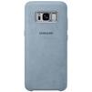Чехол-накладка для Samsung Galaxy S8 (Alcantara EF-XG950AMEGRU) (мятный) - Чехол для телефонаЧехлы для мобильных телефонов<br>Чехол плотно облегает корпус и гарантирует надежную защиту от царапин и потертостей.<br>