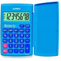 Калькулятор карманный Casio LC-401LV-BU (голубой)