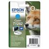 Картридж для Epson Stylus S22, SX125 (C13T12824012) (голубой) - Картридж для принтера, МФУКартриджи<br>Совместим с моделями: Epson Stylus S22, SX125<br>