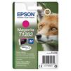 Картридж для Epson Stylus S22, SX125 (C13T12834012) (пурпурный) - Картридж для принтера, МФУКартриджи<br>Совместим с моделями: Epson Stylus S22, SX125.<br>