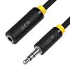 Аудио удлинитель Jack 3.5 mm (m) - Jack 3.5 mm (f) 1.5m (Greenconnect GCR-STM0114-1.5m) (черный) - Кабель, разъем для акустической системыКабели и разъемы для акустических систем<br>Используется, когда не хватает длины кабеля у акустической системы, наушников или колонок для подключения к устройству, которое служит источником звука.<br>