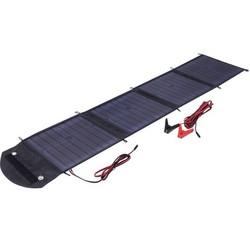 Cолнечное зарядное устройство Topray Solar TPS-956-50W (c контроллером 7А) (черный)