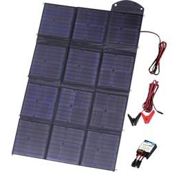 Cолнечное зарядное устройство Topray Solar TPS-956-150W (c контроллером 15А) (черный)