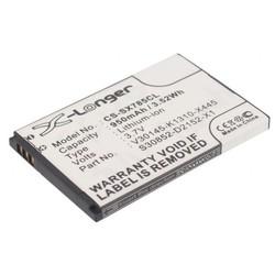 Аккумулятор для Siemens Gigaset SL400, SL780, SL785, SL788, SL78H (CPB-007)