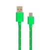 Кабель USB-microUSB (OXION OX-DCC288GR) (зеленый) - Usb, hdmi кабель, переходникUSB-, HDMI-кабели, переходники<br>Усиленный дата-кабель для синхронизации и зарядки мобильных устройств с разъемом microUSB. Разъемы USB-microUSB, тип USB 2.0, длина 1 м, в оплетке.<br>