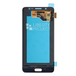 Дисплей для Samsung Galaxy J5 (2016) SM-J510FN DS с тачскрином в сборе GH97-18792C (Liberti Project 0L-00031114) (белый) (1 категория Q)
