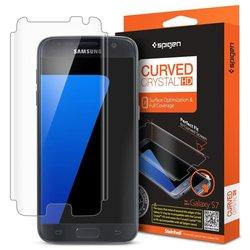 Защитная пленка для Samsung Galaxy S7 Spigen Steinheil Curved Crystal HD (555FL20265)