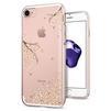 Чехол-накладка для Apple iPhone 7 (Spigen Liquid Crystal 042CS21220) (рисунок цветы) - Чехол для телефонаЧехлы для мобильных телефонов<br>Обеспечит защиту телефона от царапин, потертостей и других нежелательных внешних воздействий.<br>