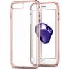 Чехол-накладка для Apple iPhone 7 (Spigen Ultra Hybrid 2 042CS20924) (кристально-розовый) - Чехол для телефонаЧехлы для мобильных телефонов<br>Обеспечит защиту телефона от царапин, потертостей и других нежелательных внешних воздействий.<br>