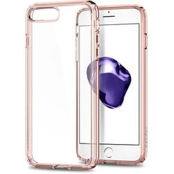 Чехол-накладка для Apple iPhone 7 (Spigen Ultra Hybrid 2 042CS20924) (кристально-розовый)