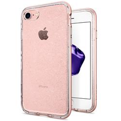 Чехол-накладка для Apple iPhone 7 (Spigen Neo Hybrid Crystal Glitter 042CS21420) (розовое золото)