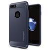 Чехол-накладка для Apple iPhone 7 Plus (Spigen Rugged Armor 043CS21190) (темно-синий) - Чехол для телефонаЧехлы для мобильных телефонов<br>Защитит смартфон от грязи, пыли, брызг и других внешних воздействий.<br>