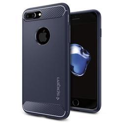 Чехол-накладка для Apple iPhone 7 Plus (Spigen Rugged Armor 043CS21190) (темно-синий)