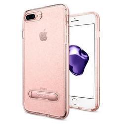 Чехол-накладка для Apple iPhone 7 Plus (Spigen Crystal Hybrid Glitter 043CS21216) (розовое золото)