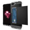 Чехол-накладка для Apple iPhone 7 Plus (Spigen Crystal Wallet 043CS20986) (черный) - Чехол для телефонаЧехлы для мобильных телефонов<br>Удобный и компактный чехол, обеспечит защиту от негативных внешних воздействий.<br>