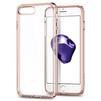 Чехол-накладка для Apple iPhone 7 Plus (Spigen Ultra Hybrid 2 043CS21136) (кристально-розовый) - Чехол для телефонаЧехлы для мобильных телефонов<br>Обеспечит защиту телефона от царапин, потертостей и других нежелательных внешних воздействий.<br>