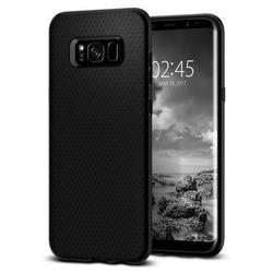 Чехол-накладка для Samsung Galaxy S8 (Spigen Liquid Air Armor 565CS21611) (черный)