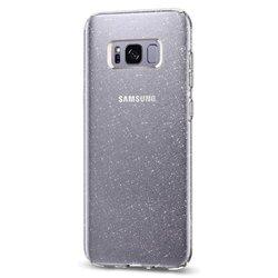 Чехол-накладка для Samsung Galaxy S8 (Spigen Liquid Crystal Glitter 565CS21617) (кристальный кварц)