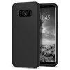 Чехол-накладка для Samsung Galaxy S8 (Spigen Case Liquid Crystal 565CS21613) (матовый черный) - Чехол для телефонаЧехлы для мобильных телефонов<br>Обеспечит защиту телефона от царапин, потертостей и других нежелательных внешних воздействий.<br>