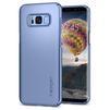 Чехол-накладка для Samsung Galaxy S8 (Spigen Thin Fit 565CS21625) (голубой) - Чехол для телефонаЧехлы для мобильных телефонов<br>Защитит смартфон от грязи, пыли, брызг и других внешних воздействий.<br>