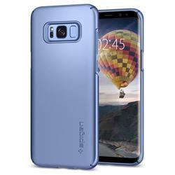 Чехол-накладка для Samsung Galaxy S8 (Spigen Thin Fit 565CS21625) (голубой)