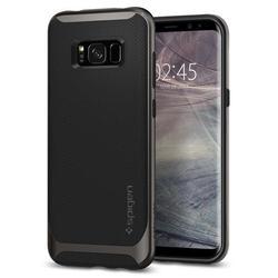 Чехол-накладка для Samsung Galaxy S8 (Spigen Neo Hybrid 565CS21594) (стальной)