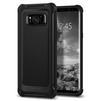 Чехол-накладка для Samsung Galaxy S8 (Spigen Rugged Armor Extra 565CS21319) (черный) - Чехол для телефонаЧехлы для мобильных телефонов<br>Защитит смартфон от грязи, пыли, брызг и других внешних воздействий.<br>