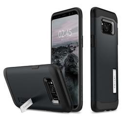 Чехол-накладка для Samsung Galaxy S8 (Spigen Slim Armor 565CS20830) (металлический)