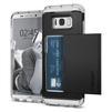 Чехол-накладка для Samsung Galaxy S8 (Spigen Crystal Wallet 565CS21086) (черный) - Чехол для телефонаЧехлы для мобильных телефонов<br>Удобный и компактный чехол, обеспечит защиту от негативных внешних воздействий.<br>