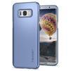 Чехол-накладка для Samsung Galaxy S8 Plus (Spigen Thin Fit 571CS21677) (голубой коралл) - Чехол для телефонаЧехлы для мобильных телефонов<br>Защитит смартфон от грязи, пыли, брызг и других внешних воздействий.<br>