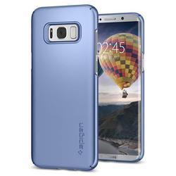 Чехол-накладка для Samsung Galaxy S8 Plus (Spigen Thin Fit 571CS21677) (голубой коралл)