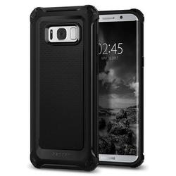 Чехол-накладка для Samsung Galaxy S8 Plus (Spigen Rugged Armor Extra 571CS21276) (черный)