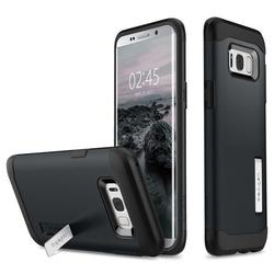 Чехол-накладка для Samsung Galaxy S8 Plus (Spigen Slim Armor 571CS21121) (металлический)