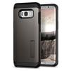 Чехол-накладка для Samsung Galaxy S8 Plus (Spigen Tough Armor 571CS21693) (стальной) - Чехол для телефонаЧехлы для мобильных телефонов<br>Защитит смартфон от грязи, пыли, брызг и других внешних воздействий.<br>