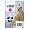 Картридж для Epson XP-600, 605, 700, 710, 800, 820 (C13T26134012 №26) (пурпурный) - Картридж для принтера, МФУКартриджи<br>Совместим с моделями: Epson XP-600, 605, 700, 710, 800, 820.<br>