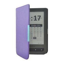 Чехол-книжка для PocketBook Touch 631 (Slim PB631-SL01-PR) (фиолетовый)