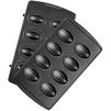 Панель Redmond RAMB-18 (черный) - Аксессуар для МБТАксессуары для МБТ<br>Пресс-форма для ростера, внутреннее покрытие чаши - антипригарное, материал - металл.<br>