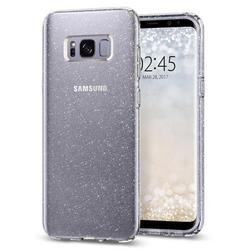 Чехол-накладка для Samsung Galaxy S8 Plus (Spigen Liquid Crystal Glitter 571CS21669) (кристальный кварц)