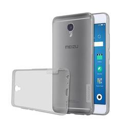 Чехол-накладка для Meizu M5 Note (Nillkin TPU) (серый)