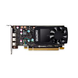 PNY Quadro P400 1227Mhz PCI-E 3.0 2048Mb 4010Mhz 64 bit 3xminiDisplay Port Bulk